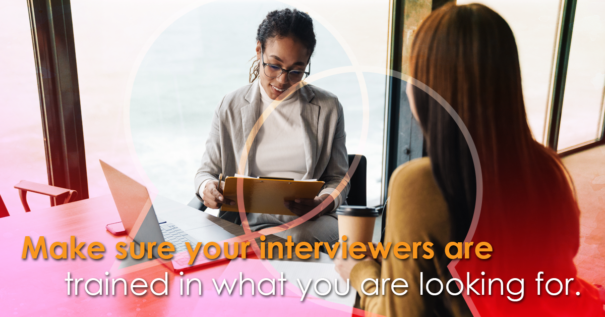 Interviewing Potential Candidates.