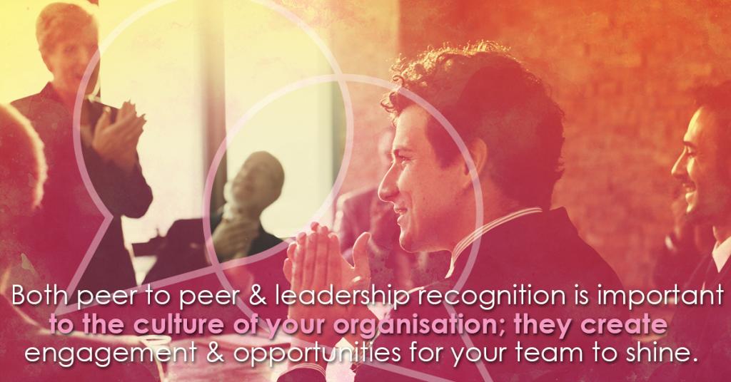 Peer to Peer Vs Leadership Recognition.